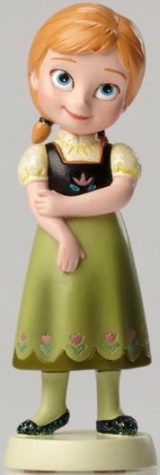 Disney Showcase 4049618 Anna Growing Up Figurine