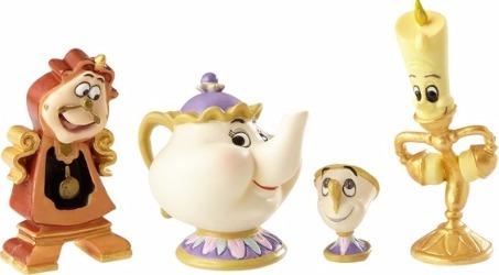 Disney Showcase 4060076 Enchanted Objects set