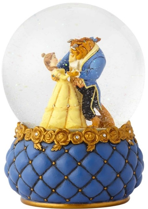 Disney Showcase 4060077 Beauty and the Beast Waterball