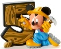 Disney Showcase 4017905 Mickey 5 Figurine