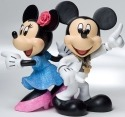 Disney Showcase 4022356 Mickey and Minnie Disco