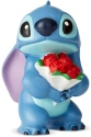 Disney Showcase 6002186 Stitch With Flowers