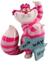 Disney Showcase 6008699 Mini Cheshire This Way Figurine
