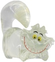 Disney Showcase 6008700 Mini Clear Cheshire Figurine