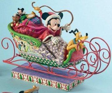 Jim Shore Disney 4005626 Fabulous Sleigh Ride