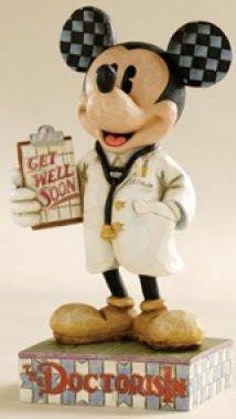 Jim Shore Disney 4006879 Doctor Mickey