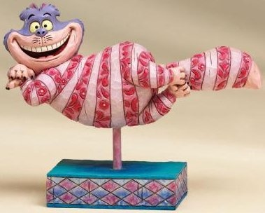 Jim Shore Disney 4007211 Cheshire Cat