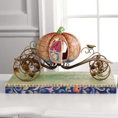 Jim Shore Disney 4007220 Pumpkin Coach