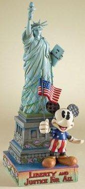 Jim Shore Disney 4007663 with Liberty