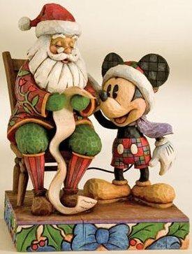 Jim Shore Disney 4008063 with Santa