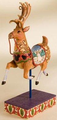 Jim Shore Disney 4008065 Holiday Reindeer