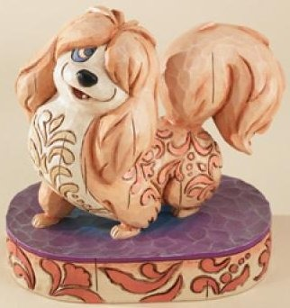 Jim Shore Disney 4009257 Flirtatious Peg Figurine