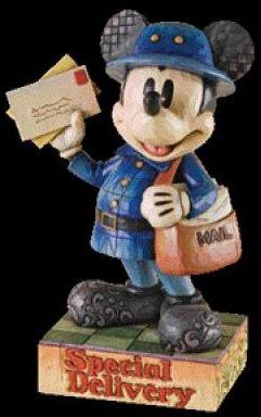 Jim Shore Disney 4009263 as Mailman