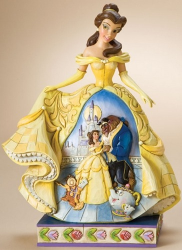 Jim Shore Disney 4010021 Belle with Beast