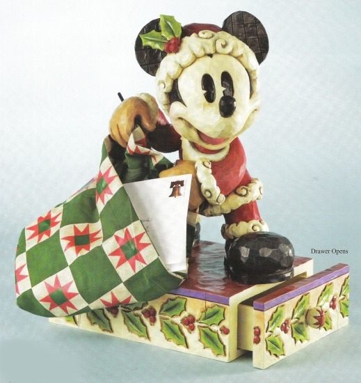 Jim Shore Disney 4011040 as Santa