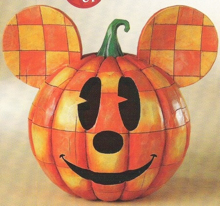 Jim Shore Disney 4011044 as Jack O Lantern