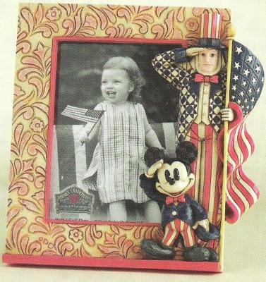 Jim Shore Disney 4011135 Patriotic Mickey