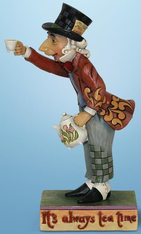 Jim Shore Disney 4013032 Mad As A Hatter Figurine