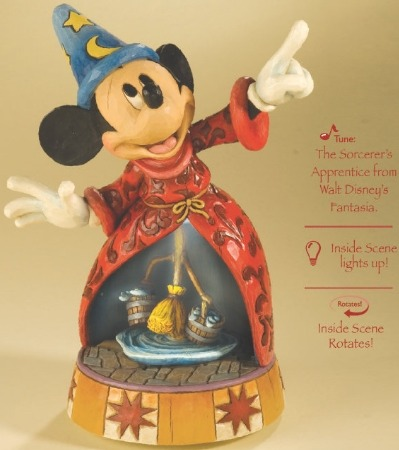 Jim Shore Disney 4013249 Sorcerer's Apprentice Musical The Sorcerer's Apprentice