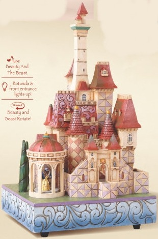 Disney Traditions by Jim Shore 4013250 Beast Castle