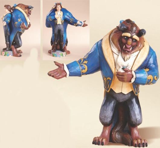 Jim Shore Disney 4013251 Beast Prince Double