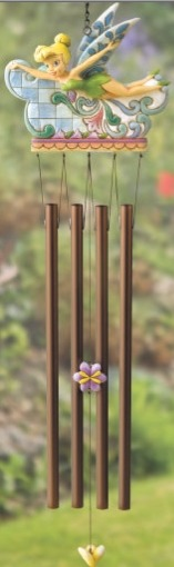 Jim Shore Disney 4013259 Tink's Windchimes Wind Chime