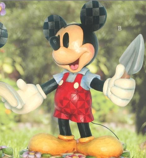 Jim Shore Disney 4013267 Green Thumb Mickey
