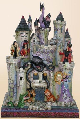 Jim Shore Disney 4013979 Tower of Fright Lights Up