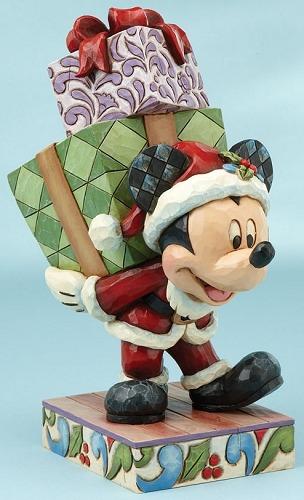Jim Shore Disney 4013990 Santa Mickey