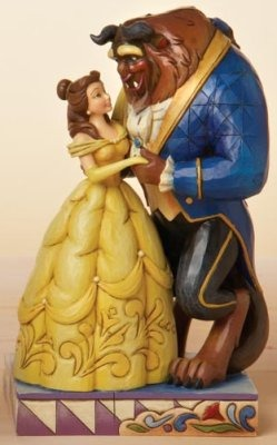 Jim Shore Disney 4015339 Belle & The Beast