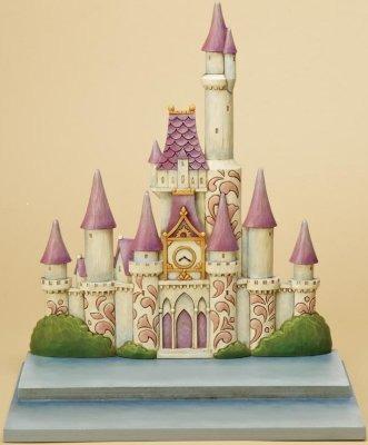 Jim Shore Disney 4015342 Castle Displayer Piece