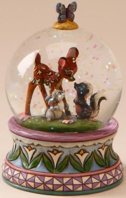 Jim Shore Disney 4015347 Bambi Waterball