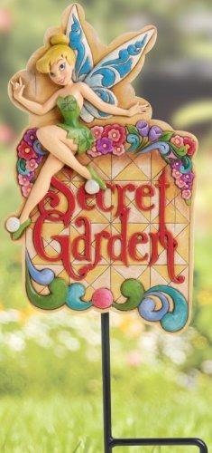 Jim Shore Disney 4016533 Tinkerbell Garden Plaque