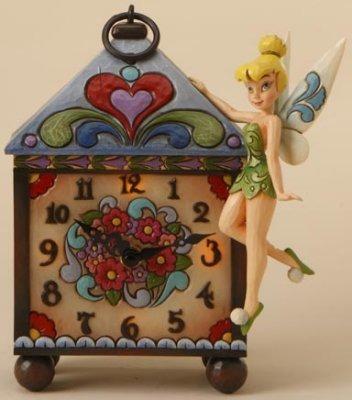 Jim Shore Disney 4016536 Tinkerbell Mantel Clock