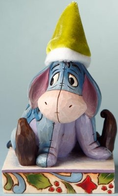 Jim Shore Disney 4016567 Eeyore As Elf