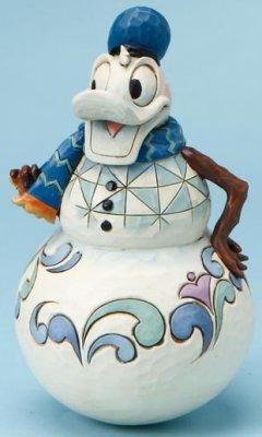 Jim Shore Disney 4016573 Swaying Donald Snowman