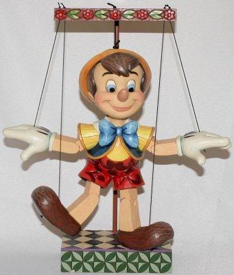 Jim Shore Disney 4016583 Pinocchio Marionette