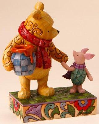 Jim Shore Disney 4016588 Classic Pooh and Piglet