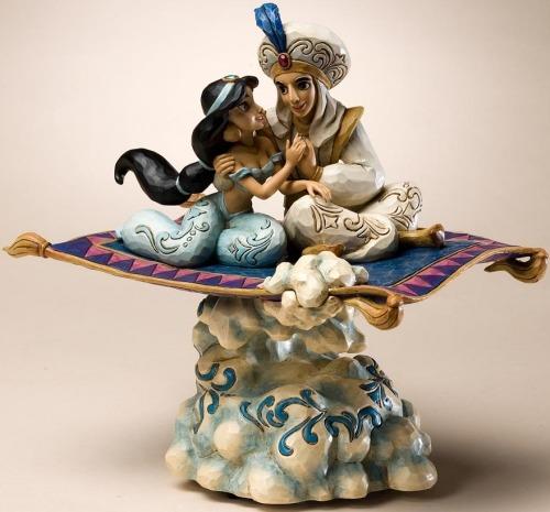 Jim Shore Disney 4020804 Magic Carpet Ride