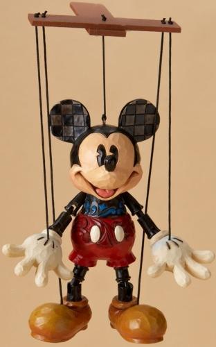 Jim Shore Disney 4023576 Mickey Marionette