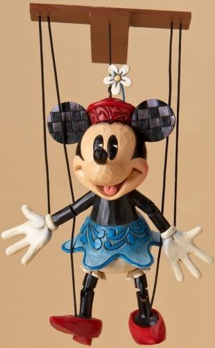 Jim Shore Disney 4023577 Minnie Marionette