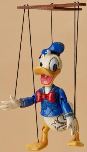 Jim Shore Disney 4023578 Donald Marionette