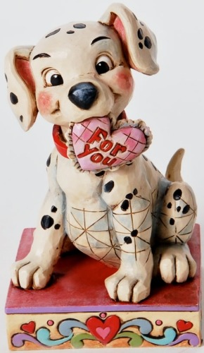Jim Shore Disney 4026083 Lucky in Love