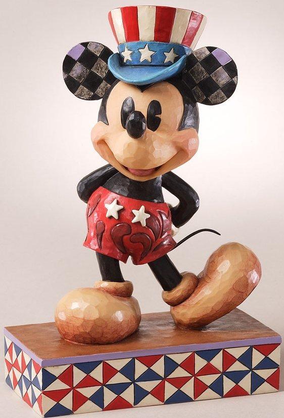 Jim Shore Disney 4027133 Star Spangled Statesman Figurine