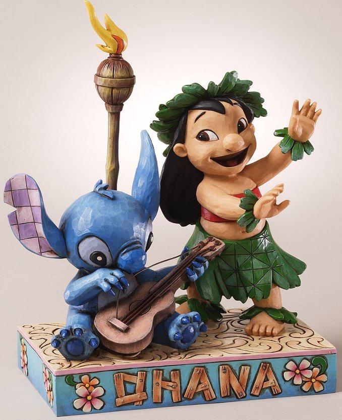Jim Shore Disney 4027136 Ohana Means Family Figurine