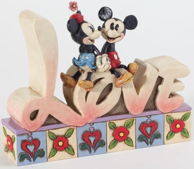 Jim Shore Disney 4027140 Love Figurine