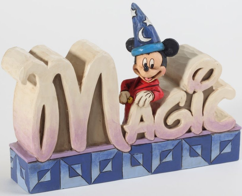 Jim Shore Disney 4027141 Magic Figurine