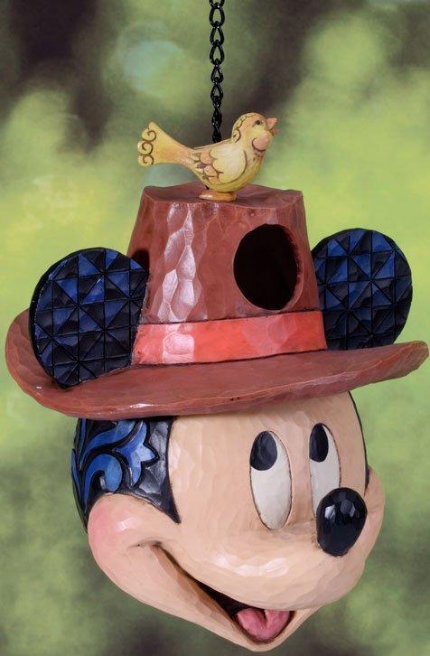 Jim Shore Disney 4027143 Welcome Home Birdhouse