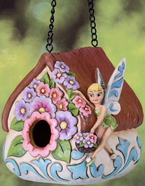 Jim Shore Disney 4027147 Pixie Perch Birdhouse