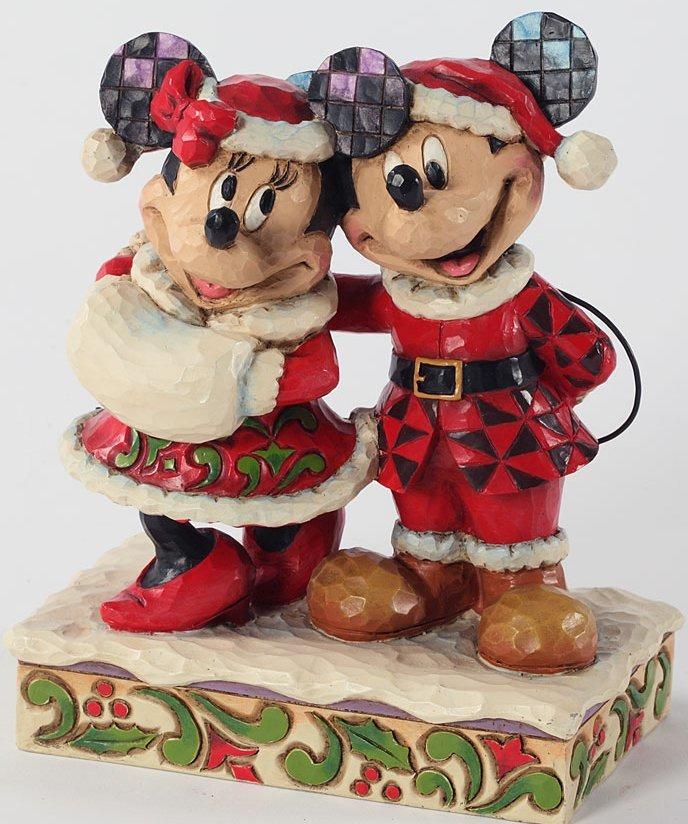 Jim Shore Disney 4027934 Holiday Duet Figurine